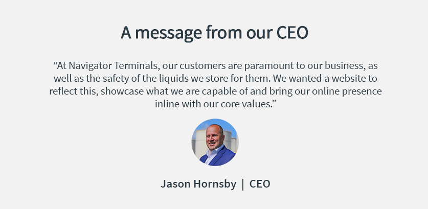 Jason Hornsby, CEO
