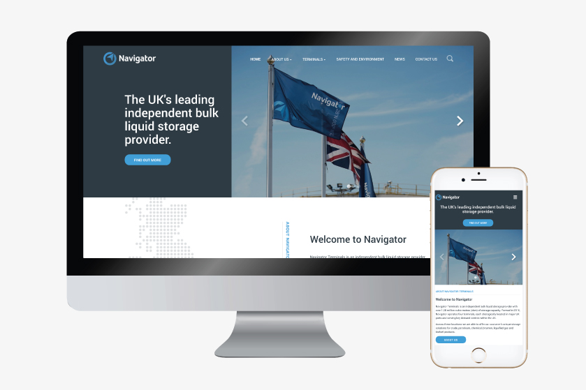Navigator Terminals Launch Brand New Website