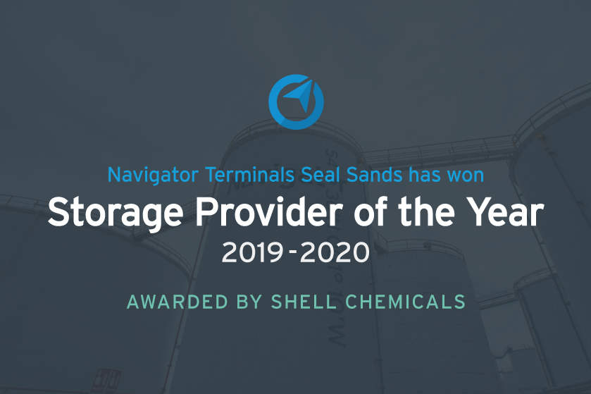 Navigator Terminals Seal Sands is the 'Shell Chemicals Provider of the ...